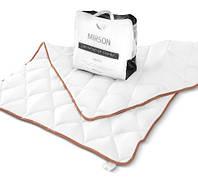 Одеяло детское зимнее шерстяное MirSon 055 Mikrosatin Gold Woolen 110х140 см вес 700 г