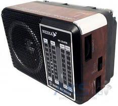 Радиоприемник компактный FM/TV/MW/SW акумуляторный 220В Neeka NK - 203 RB