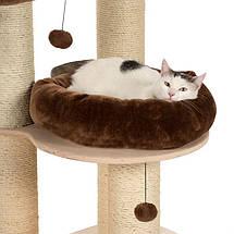 Когтеточка для котов Eco Premium L с двумя лежанками и гамаком, фото 3