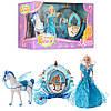 Карета с куклой и лошадью Milana 219A: лошадь ходит, машет крыльями + свет/звук