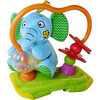 Игрушка на коляску Biba Toys Крутящийся слоненок 00000035623