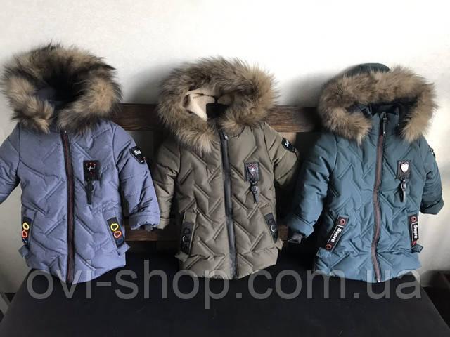 куртки зимние мальчик