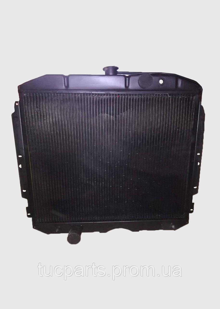 Радиатор водяного охлаждения Газ 3307 медный 3-х рядный от Иранского производителя