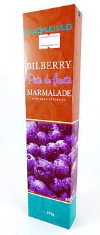 Мармелад черничный Pate de fruits Сладкий Мир 192 г