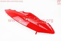 Пластик - задний боковой верхний левый, КРАСНЫЙ на скутер Wind (Viper)