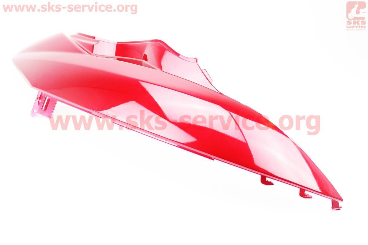 Пластик - задний боковой верхний правый, КРАСНЫЙ на скутер Wind (Viper)