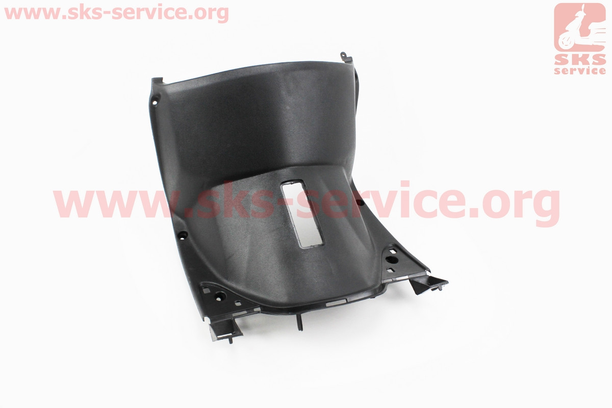УЦЕНКА (отломано 1 крепление), пластик - передний надколенный нижний, тип 2 на скутер Wind (Viper)