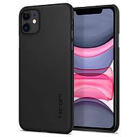 Чохол Spigen для iPhone 11 Thin Fit, Black (076CS27178)