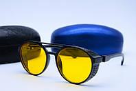 Солнцезащитные очки в стиле Ретро Derbi 86548 желтые, фото 1