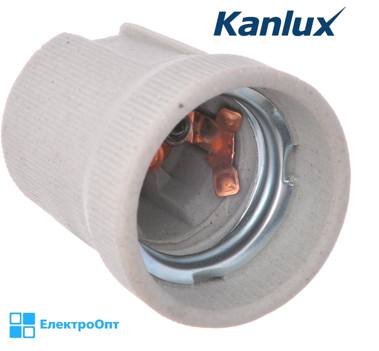 Електричний Патрон Е27 Kanlux прямий кераміка