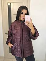 Куртка женская супер батал в расцветках 37665, фото 1