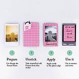 Набор для Камеры Fujifilm Instax Mini 8, 8+, 9 Чехол, Линзы, Рамки, Альбом, Стикеры от CAIUL Розовый, фото 5