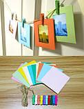 Набор для Камеры Fujifilm Instax Mini 8, 8+, 9 Чехол, Линзы, Рамки, Альбом, Стикеры от CAIUL Розовый, фото 6