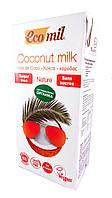 Органическое кокосовое молоко без сахара Ecomil 1000 мл