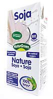 Органическое соевое растительное молоко без сахара NaturGreen 1000 мл