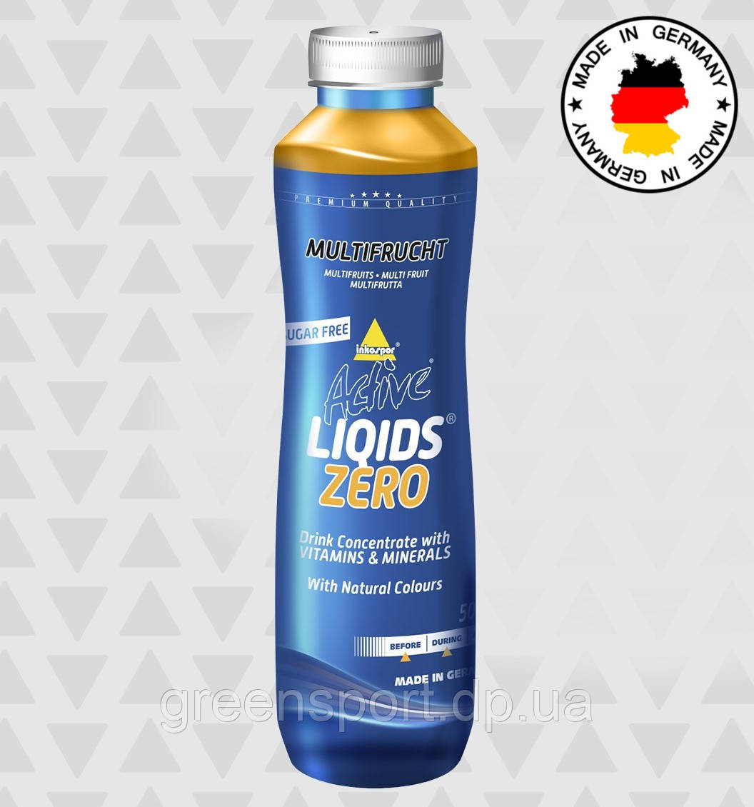 Изотоник Inkospor Active Liqids Zero (500 мл) Мультифрукты