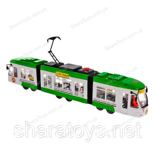Игрушечный музыкальный трамвай
