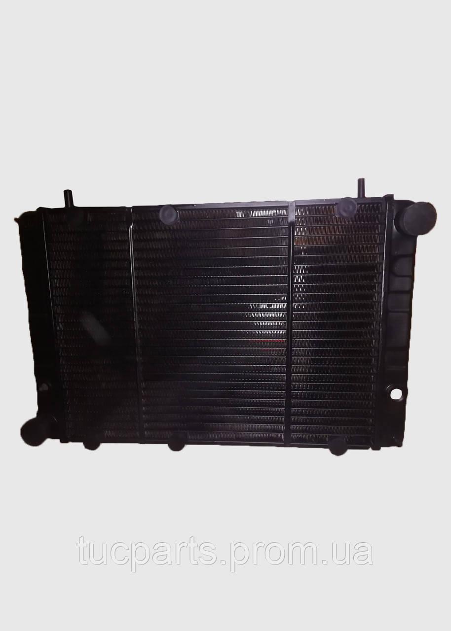 Радиатор водяного охлаждения  Волга,ГАЗ 3110 3-х рядный медный
