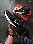 Мужские кроссовки Nike Air Max 270 (черно/белые), фото 4
