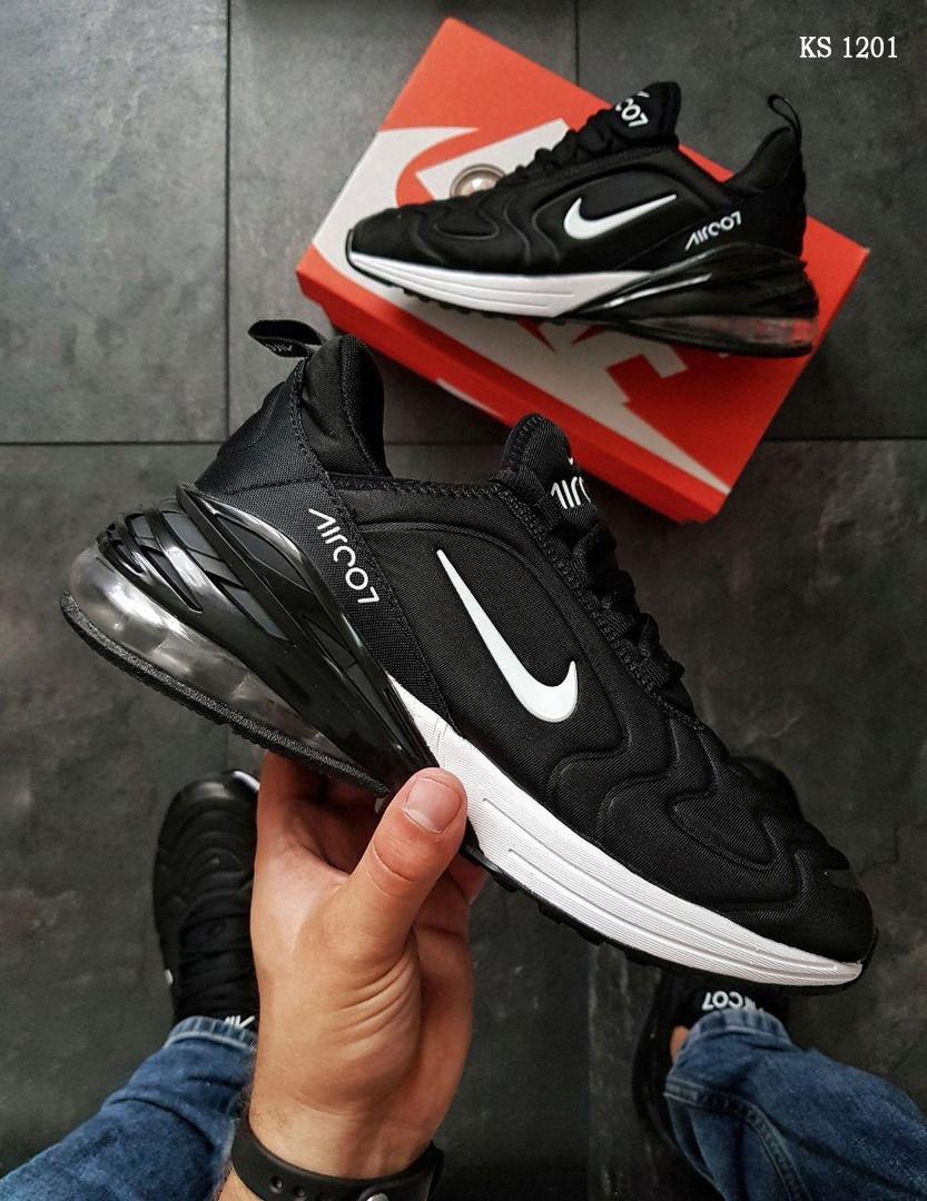 Мужские кроссовки Nike Air Max 270 (черно/белые)