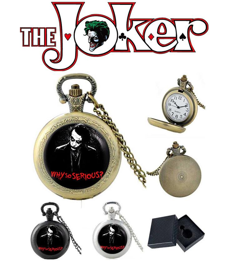 Карманные часы Why so serious? Джокер / Joker