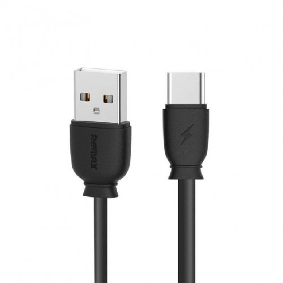 USB кабель Remax Fast Charging Data RC-134A Type-C (Черный)