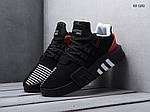 Мужские кроссовки Adidas EQT Bask ADV (черно/красные), фото 3