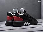 Мужские кроссовки Adidas EQT Bask ADV (черно/красные), фото 4