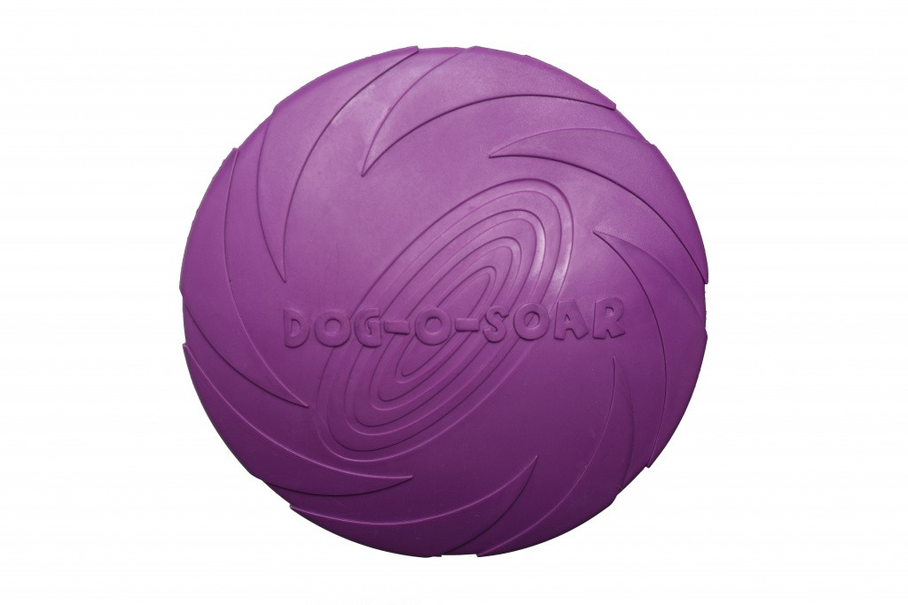 Іграшка для собак Диск гумовий Pet Nova 22 см фіолетовий