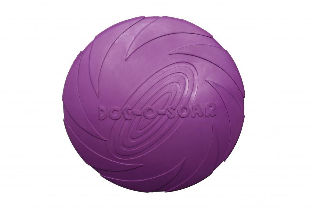 Игрушка для собак Диск резиновый Pet Nova 22 см фиолетовый
