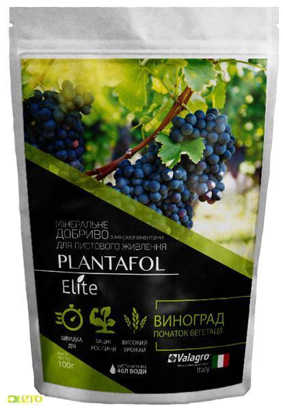 Плантафол Элит минеральное удобрение для винограда, начало вегетации, 100 г