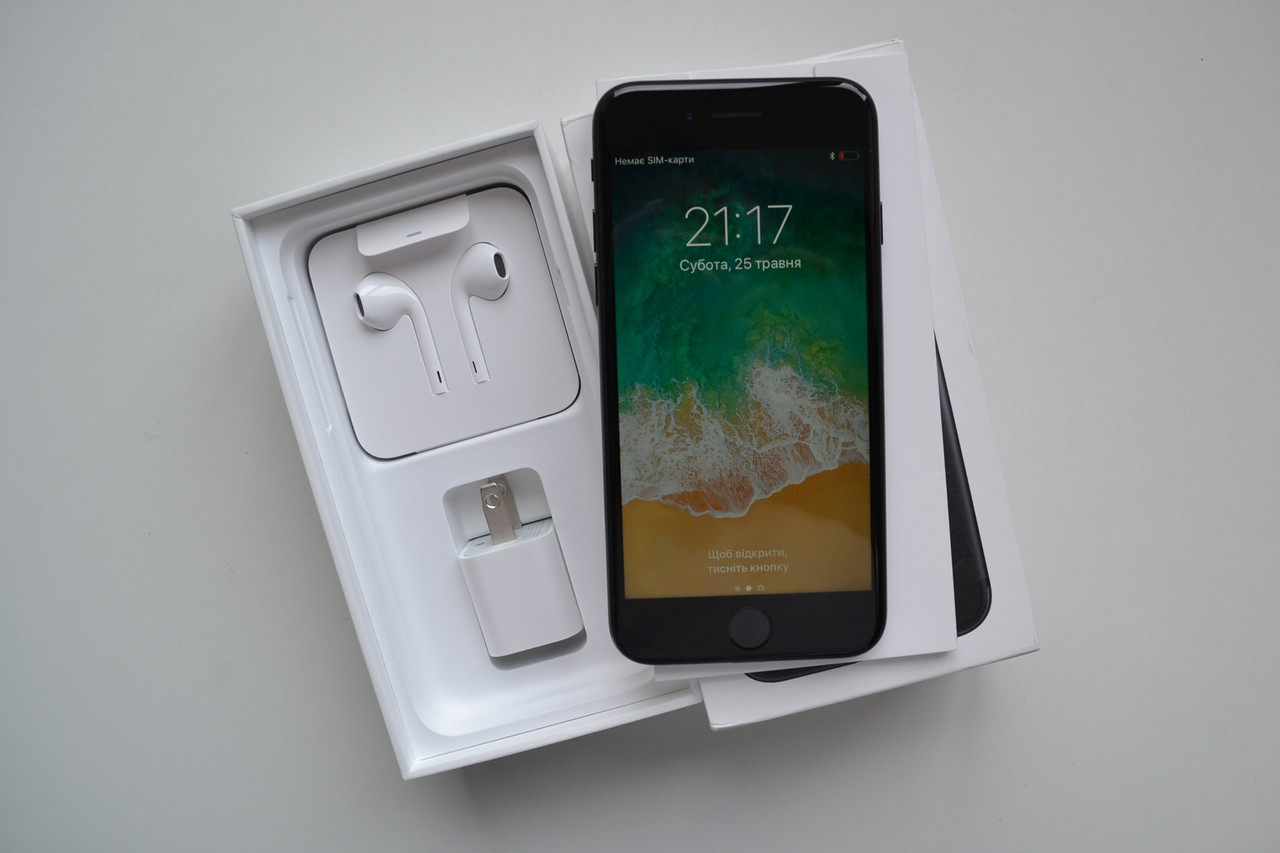 Новый Apple Iphone 7 128Gb Black Neverlock Оригинал!
