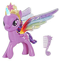 My Little Pony Твайлайт спаркл Искорка со светящимися крыльями и рогом. Rainbow Wings Twilight Sparkle