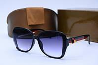 Солнцезащитные очки Guc 1012 черные с белым, фото 1