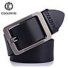 Кожаный мужской ремень Coolerfire HQ022 - Black
