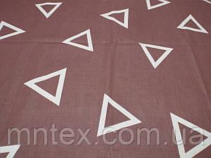 Ткань для пошива постельного белья Ранфорс Геометрия