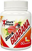 Стимулятор Гуарана Stark Pharm - Guarana 300 мг (60 капсул)