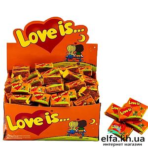 Жвачки Love is Апельсин-Ананас 50 шт