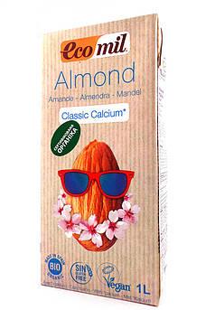 Мигдальне молоко з Кальцієм класичне Ecomil 1000 мл