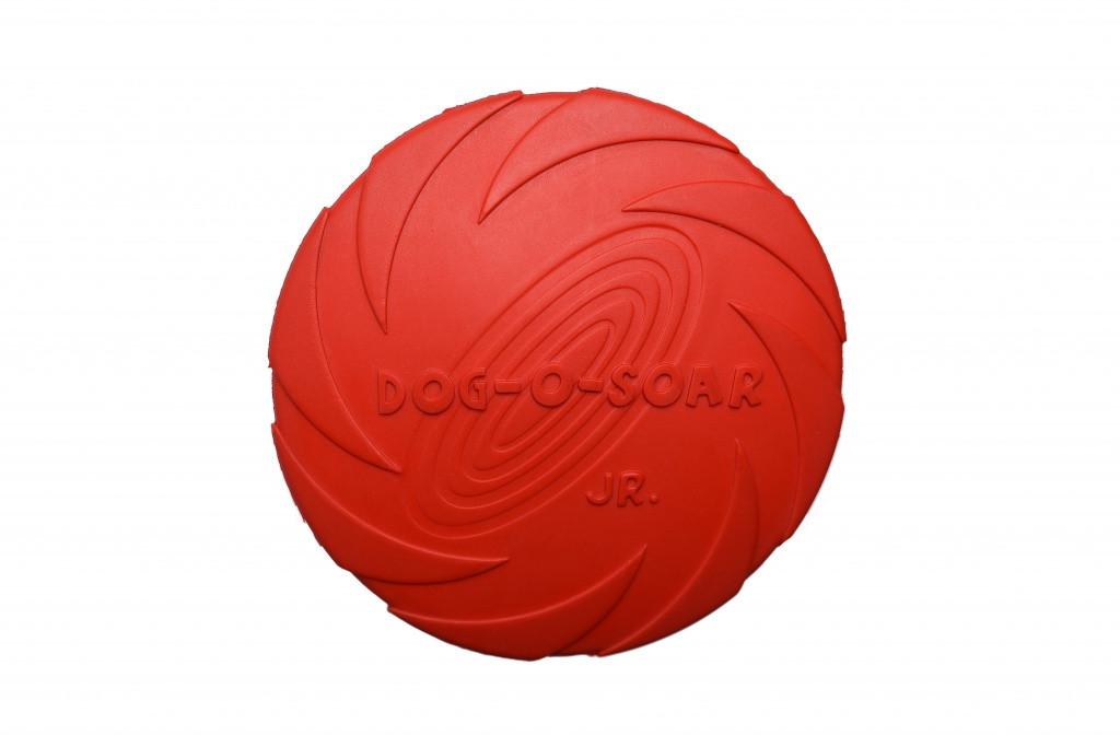 Игрушка для собак Диск резиновый Pet Nova 15 см красный