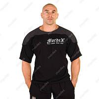 Mordex, Размахайка Mordex Gym Sport Clothes, черная-темно-серая, фото 1