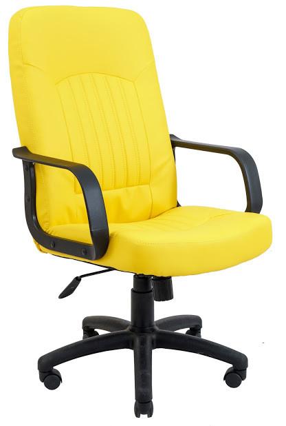Кресло Фиджи пластик 1 кат желтое