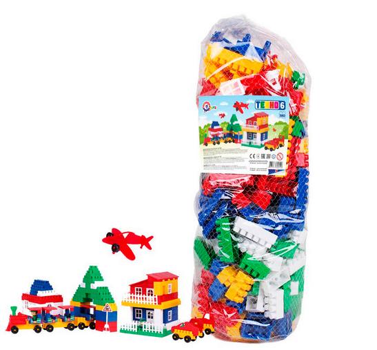 Конструктор блочный.Детский пластиковый конструктор.Конструктор для ребенка.