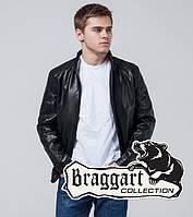 Braggart Youth | Куртка экокожа 1588 черный, фото 1
