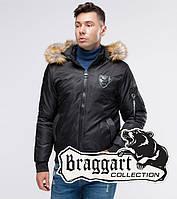 Braggart Youth   Бомбер осенний 50145 черный, фото 1