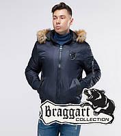 Braggart Youth | Осенний бомбер 50145 темно-синий, фото 1