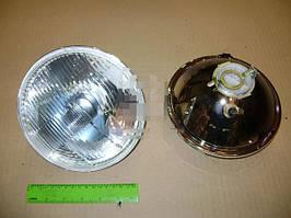 Фара ВАЗ 2101, 2102 левая=правая стекло+отражатель (с подсветкой) (ОСВАР). 62.3711200-16