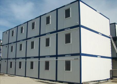 Быстровозводимое общежитие из модулей
