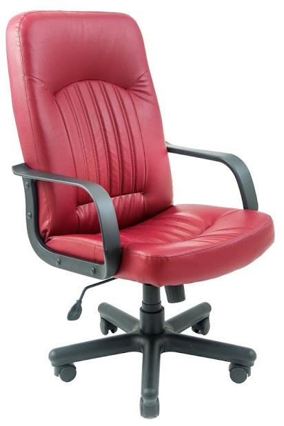 Кресло Фиджи пластик 1 кат красное