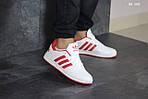 Мужские кроссовки Adidas La marque (бело-красные), фото 5